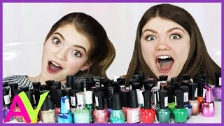 Download Mixing All My Nail Polish Together Experiment / Aud Vlogs Video