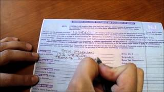 Download How To: Fill out a New Jersey vehicle title when buying or selling a car Video