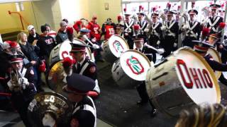Download Ohio State Marching Band Percussion Show Marching Into Skull Bass Drums 10 17 2015 OSU vs PSU Video