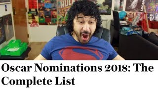 Download REACTING to the 2018 OSCAR NOMINEES LIST!!! Video
