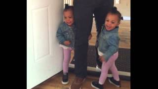 Download TWINS SCARED OF BIG DOG! Video