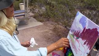 Download Painting the Superstition Mountains - April 2016 Video