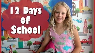 Download 12 DAYS OF SCHOOL - 12 Days of Christmas Parody Video