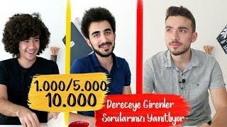 Download #PK3 İlk 1000/ İlk 5000/İlk 10.000 Dereceye Girenler, Sorularınızı Yanıtlıyor Video