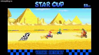 Download Mario Kart: Super Circuit - 50cc cups (Wii U Virtual Console) [longplay/Let's Play] Video