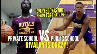 Download ″Everybody's Not Ready For That Life″ NY Public School vs Private School RIVALRY Is CRAZY! Video