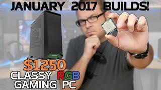 Download Classy Kaby Lake RGB Gaming PCs! 7700K & 7600K - Jan 2017 Builds Video