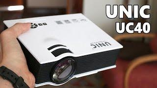 Download UNIC UC40, proyector LED de bajo coste Video