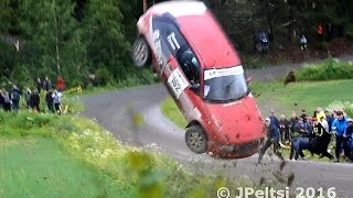 Download Best of finnish rally crashes 2016 by JPeltsi Video