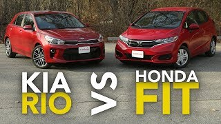 Download 2018 Kia Rio vs Honda Fit Comparison: Which Subcompact Hatchback Is Better? Video