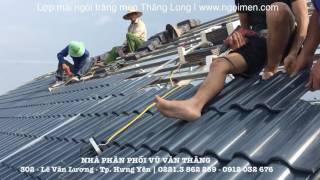 Download Nhà mái thái sử dụng ngói lợp tráng men Viglacera Thăng Long | ngoimenthanglong Video