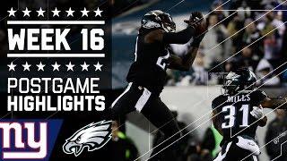 Download Giants vs. Eagles | NFL Week 16 Game Highlights Video