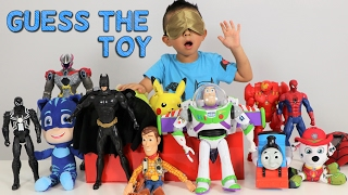 Download GUESS THE TOY Game Challenge Kids Surprise Toys Disney Toys Superheroes Power Rangers Ckn Toys Video