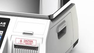 Download Label printing scale, CL5200 (French) Video