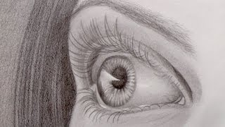Download How to Draw a Realistic Eye in Perspective Video