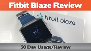 Download Fitbit Blaze Review - 30 Day Test Drive Video