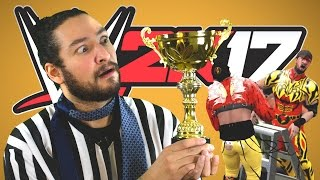 Download TABLES LADDERS AND CHAIRS • WWE 2K17 Tournament Video