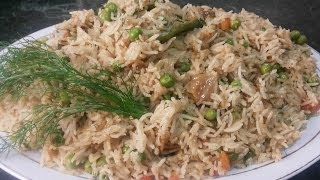 Download Matar Pulao / Peas Rice ( Cooking With Fouzia ) Video