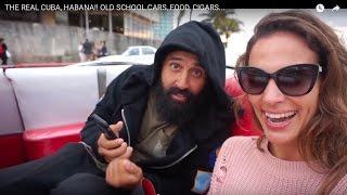 Download THE REAL CUBA, HABANA!! OLD SCHOOL CARS, FOOD, CIGARS... Video