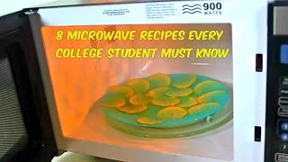 Download 8 Microwave Recipes Every College Student Must Know Video