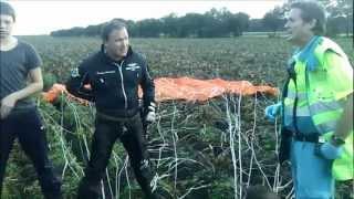 Download Breitling Jet Team - Recovery crew after crash L39 Albatros. Video