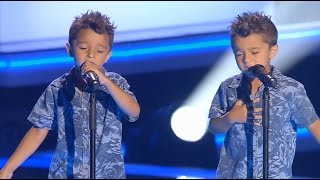 Download Antonio y Paco: ″Te Quiero, Te Quiero″ - Audiciones a Ciegas - La Voz Kids 2017 Video