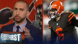 Download Nick Wright on Baker Mayfield's debut: 'A star in the NFL is born' | NFL | FIRST THINGS FIRST Video