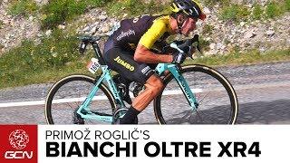 Download Primož Roglič's Bianchi Oltre XR4 Video