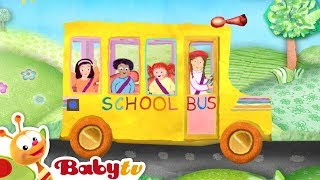 Download The Wheels on the Bus - Nursery Rhymes | BabyTV Video