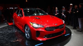Download 2018 Kia Stinger First Look: 2017 Detroit Auto Show Video