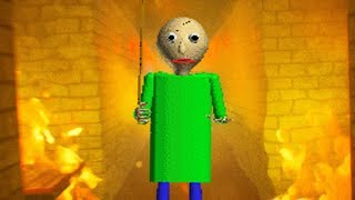 Download BURNING DOWN BALDIS SCHOOL HOUSE! (NEW) || Baldi's Basics in Education and Learning Remastered Video