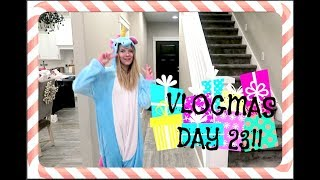 Download Aint't No Party Like A Unicorn Party!! VLOGMAS DAY 23!!! Video