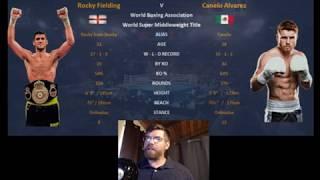Download Canelo Alvarez vs Rocky odds, time, channel and prediction. Also MMA Trivia at 5! Video