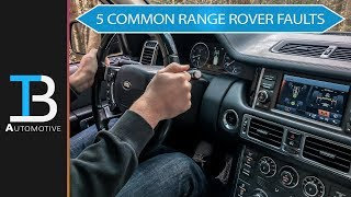 Download 5 Common Faults on a Used Range Rover (L322 Model) Video