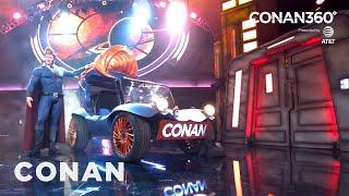Download CONAN360°: Conan's Superhero Vehicle Reveal Video