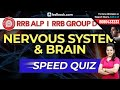 Download GS Speed Quiz Live | Nervous System & Brain Important Questions for RRB ALP, Group D & RPF Video