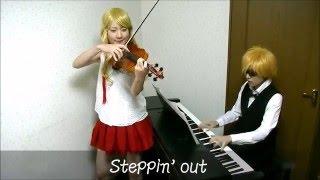 Download 【デュラララ!!×2 結 OP】Steppin'out【演奏してみた】【Durarara!!x2 Ketsu OP 】 Video