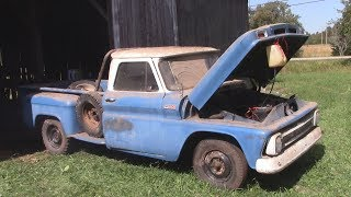 Download Barn Find 1965 Chevy Truck Cold Start Video