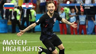 Download Russia v Croatia - 2018 FIFA World Cup Russia™ - Match 59 Video