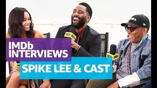Download Spike Lee, John David Washington and Laura Harrier 'BlacKkKlansman' Interview at Cannes 2018 Video