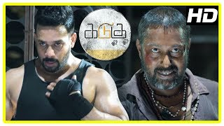 Download Kadugu Movie Climax Scene | Bharath realises his mistake and stabs the minister | End Credits Video