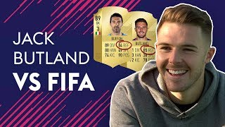 Download BUTLAND REACTS TO HAVING BETTER REFLEXES THAN BUFFON! | JACK BUTLAND VS FIFA 🔥🔥🔥 Video