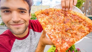 Download LIVING on DOLLAR PIZZA for 24 HOURS in NYC! Video