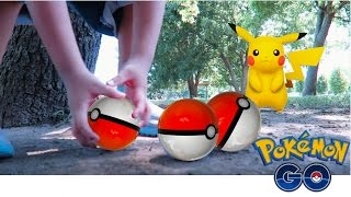 Download POKEMON GO IN REAL LIFE!| HOW TO CATCH PIKACHU IN POKEMON GO Video