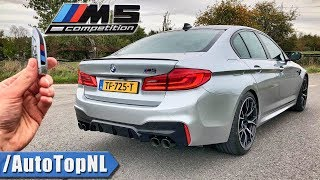Download BMW M5 F90 COMPETITION REVIEW POV Test Drive on AUTOBAHN & ROAD by AutoTopNL Video