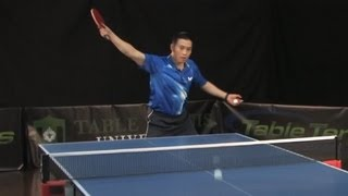 Download How To Develop An Aggressive Backhand - Table Tennis University Video