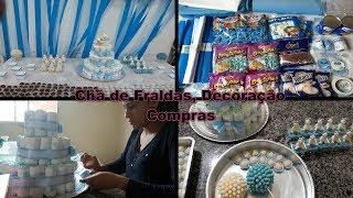 Download Fazendo a Decoração do Chá de Fraldas, Compras... Video
