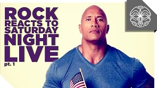 Download The Rock Reacts to his Favorite Sketches from Saturday Night Live: PART 1 Video