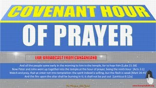 Download Covenant Hour of Prayer Service, October 19, 2018 Video
