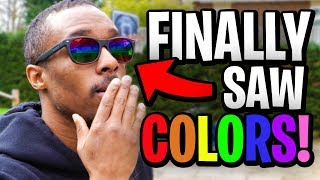 Download THESE GLASSES CURED HIS COLORBLINDNESS! Video